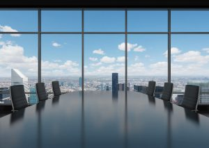conference room overlooking new york city hollis laidlaw & simon westchester mount kisco new york law city firm litigation real estate trusts & estates employment law corporate law land use & zoning